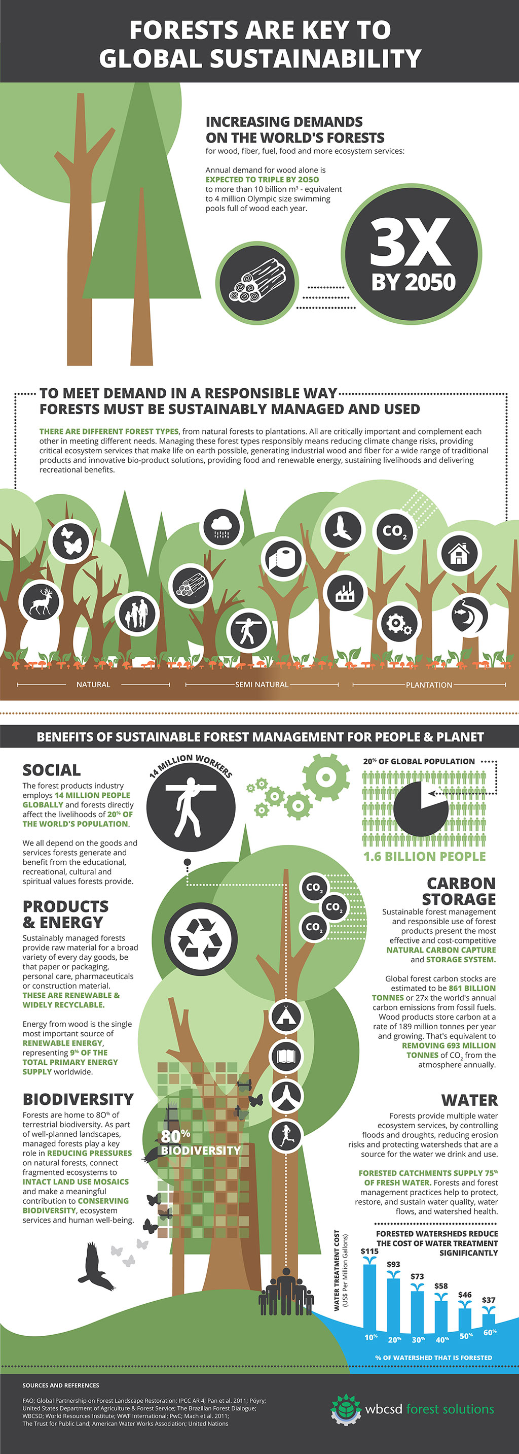 Home sustainable forest products for Why is wood sustainable